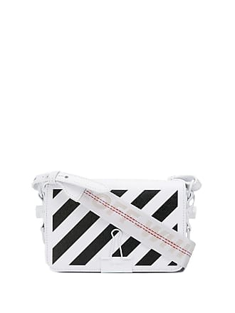 Off-white Bolsa Diagonal Binder mini - Branco