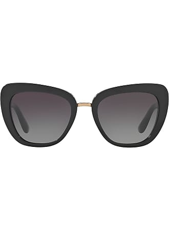 Dolce & Gabbana Eyewear cat eye sunglases - Preto