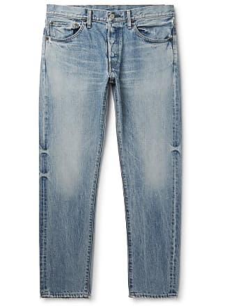 Fabric Brand & Co. Slim-fit Denim Jeans - Light blue