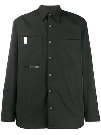 WWWM - What We Wear Matters Camisa com estampa - Preto