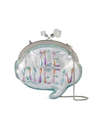 Sophia Webster Clutch Ice Queen Speech Bubble - Metálico