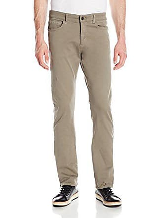 DL1961 Mens Russell Slim Straight Sateen Pant in Palm, 34
