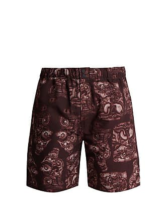 edbcf9b59d3b5 Saturdays Surf NYC Saturdays Nyc - Trent Pendant Swim Shorts - Mens -  Burgundy Multi