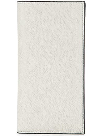 Valextra foldover card wallet - Grey