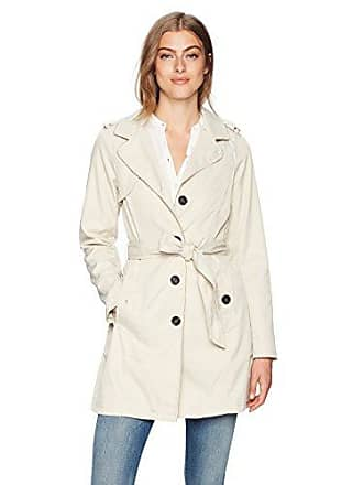 a0c01b6b5 Vero Moda Womens Dollars Trench Coat, Oatmeal, Medium
