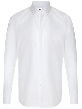 HUGO BOSS Camisa com abotoamento - Branco