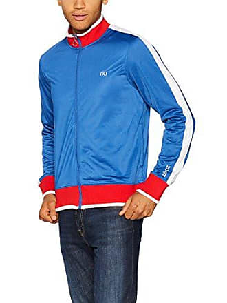 2(x)ist Mens Global Games Track Jacket Outerwear, Monaco Blue/red/White, Large