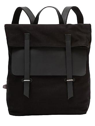 0f92cae10a DuDu Grand sac à dos en toile et cuir pour ordinateur portable avec  fermeture magnétique et