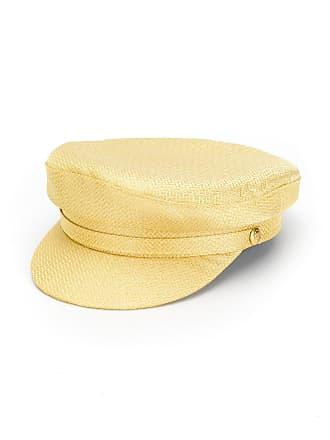 Manokhi Cappello metallico Baker Boy - Di Colore Giallo d129383a99ad