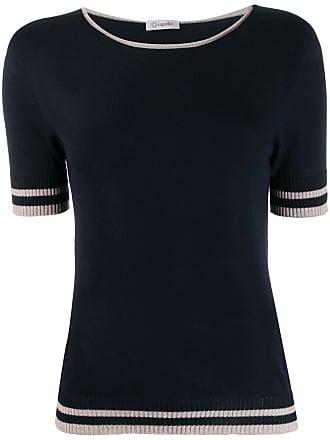 PESERICO Suéter mangas curtas - Azul