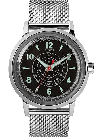 Timex X Todd Snyder Beekman 40MM Stainless Steel Mesh Band Watch