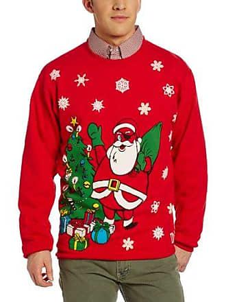 O'Neill Mens Santa Jack SweaT-Shirt, Cardinal Red, X-Large