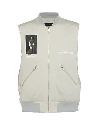 Undercover Dead Hermits Padded Cotton Gilet - Mens - Grey