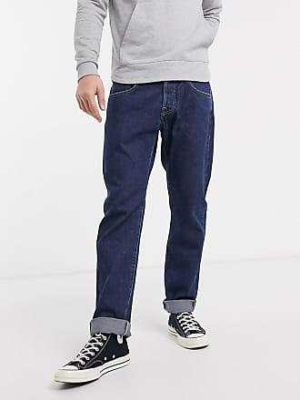 Edwin ED55 - Jeans regular affusolati rinse wash-Blu