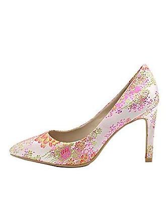 b6004c6f6afd86 BFMEI Spitz High Heels Shallow Mouth Bestickt Stoff Stiletto High Heel  Schuhe (Farbe   Blumen