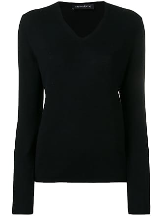 Iris Von Arnim Suéter gola V de tricô - Preto
