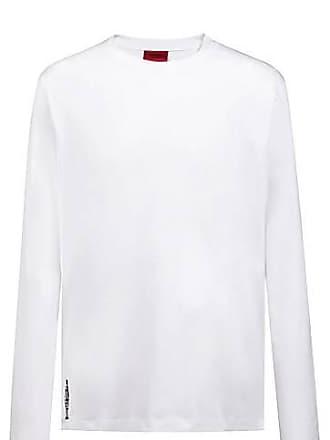 56006bb0cbf HUGO BOSS T-shirt à manches longues Relaxed Fit à logo en version  graphique69.