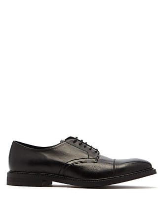 Paul Smith Rosen Leather Derby Shoes - Mens - Black