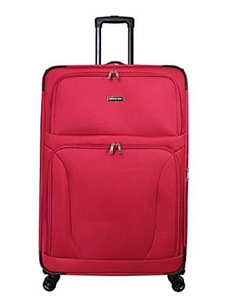 World Traveler Embarque Lightweight 30-inch Spinner Upright Suitcase-Red