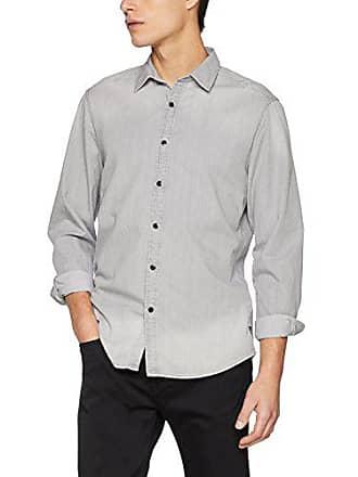G-Star Landoh Clean Shirt L s, Chemise en Jean Homme, Gris a2dde876f7ff