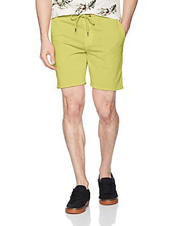 Volcom Mens Case Fleece Short, Shadow Lime, S