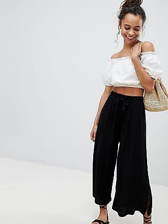 9214a6f158 Asos Petite ASOS DESIGN Petite cropped drawstring trousers