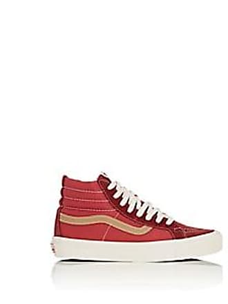cce4a2d81f949f Vans Womens Sk8-Hi Suede   Canvas Sneakers - Red Size 11.5
