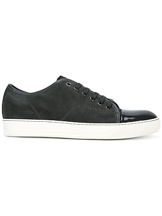Lanvin toe-capped sneakers - 121 Gris/Gri