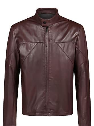 ae360724e HUGO BOSS Slim-fit biker jacket in nappa leather