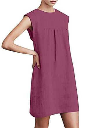 d9cc96ef334395 Jutoo Tunika Kleid Tunika Kleid Damen Mittelalter Kleid midi Kleid Damen  midi Kleid fokuhila Kleid lila