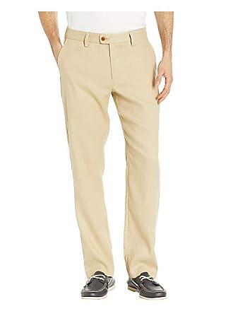 c9326d9c6f Tommy Bahama Mahalo Bay Flat Front Pants (Stone Khaki) Mens Casual Pants