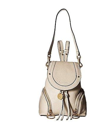 ca99e0da827d See By Chloé Olga Mini Backpack (Cement Beige) Backpack Bags