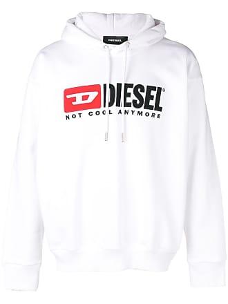 Diesel Not Cool Anymore hoodie - White