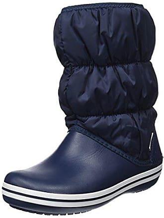 Femme Neige Bottes Navy Women 35 white Bleu Winter Crocs 34 EU de Puff Boot WC0wYq