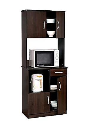 ACME ACME 12258 Quintus Kitchen Cabinet Set, Espresso Finish