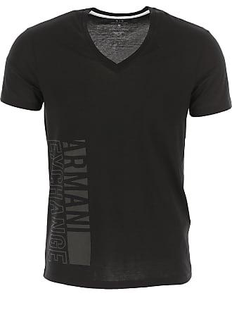 4c1a634ddd Emporio Armani Camiseta de Hombre Baratos en Rebajas, Negro, Algodon, 2017,  M