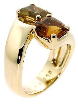 Hermès Bypass Cocktail Gold Ring