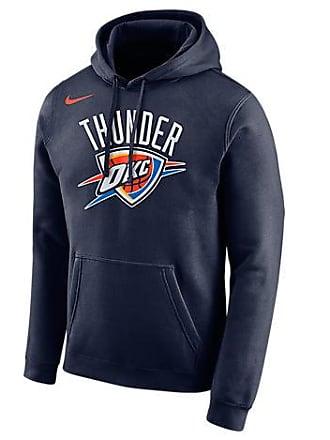 0a5d31ee9daf Nike Mens Oklahoma City Thunder NBA City Edition Logo Essential Hoodie