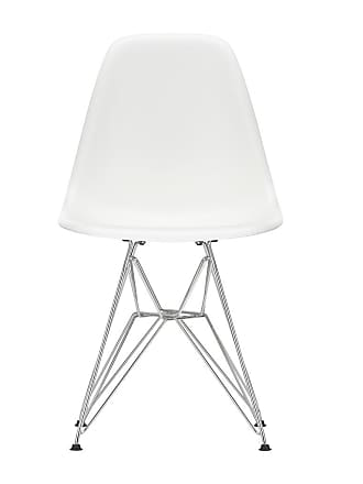 Vitra DSR Plastic Side Chair Chrome