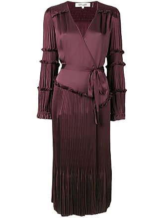 Diane Von Fürstenberg Vestido Keira roxo