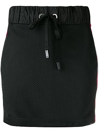 No Ka'Oi perforated mini skirt - Black