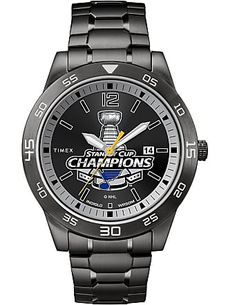 Timex Timex Watch Mens Stanley Cup 2019 Champions Saint Louis Blues Black Item Tw2U20100Yz