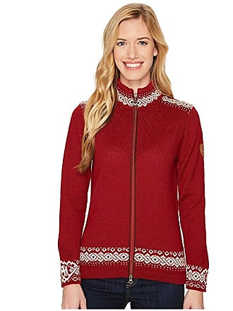 Dale of Norway Bergen Jacket (B-Red Rose/Off-White/Navy) Womens Coat