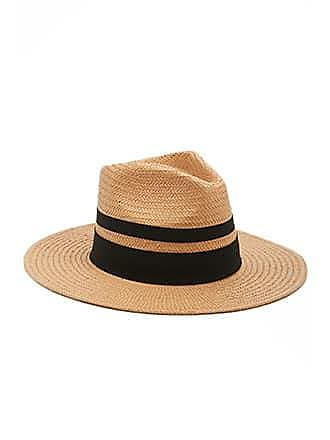 Forever 21 Forever 21 Panama Straw Hat Rust/black