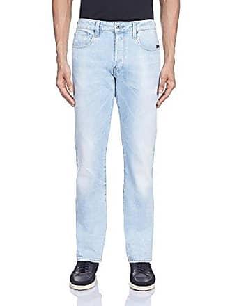 G-Star Mens Attacc Straight Leg Jean In Nippon Stretch Denim Light Aged, Light Aged, 33x32
