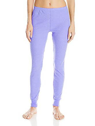 Fruit Of The Loom Womens Waffle Thermal Bottoms, Peri Pop Heather, Small