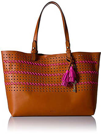 Fossil Rachel E/W Tote Bag, Vintage Brown