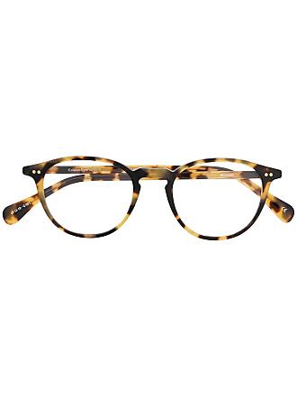 Kaleos Armação de óculos redonda - Marrom