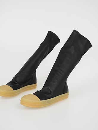 Stivali In Pelle Rick Owens®  Acquista fino a −70%  7d0cd126829