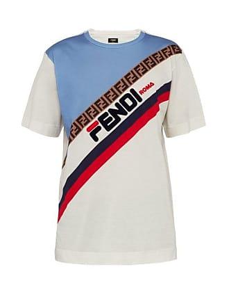 2ce4b858b00 T-Shirts Manches Courtes Fendi®   Achetez jusqu  à −50%